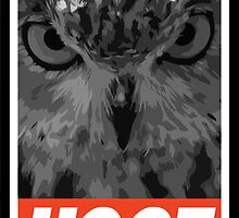HOOT (Owl) by Daxes