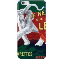 Leonetto Cappiello Affiche Papier Nil iPhone Case/Skin