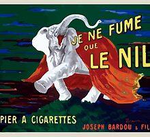 Leonetto Cappiello Affiche Papier Nil by wetdryvac