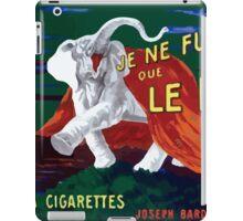 Leonetto Cappiello Affiche Papier Nil iPad Case/Skin
