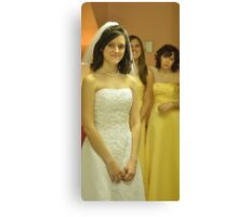 Bridal Dreams Canvas Print