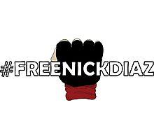 Free Nick Diaz Photographic Print