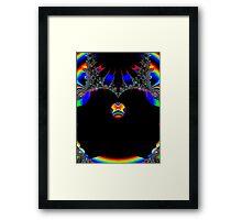 Spice Space Ball Framed Print