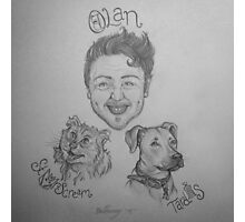 Olan Rogers and Friends Photographic Print