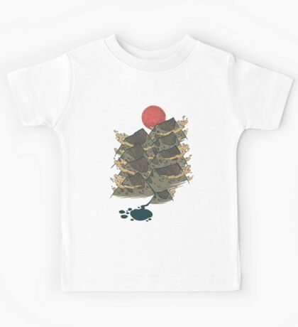 There's Chocolate in Those Mountains Kids Tee
