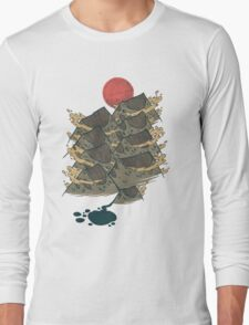 There's Chocolate in Those Mountains Long Sleeve T-Shirt