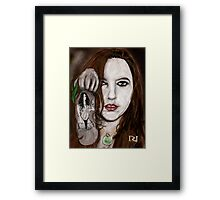 LYNETTE THE BODY AND SOUL OF INK Framed Print