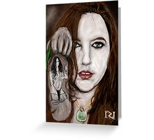 LYNETTE THE BODY AND SOUL OF INK Greeting Card