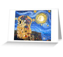 Lick in the moonlight  Greeting Card