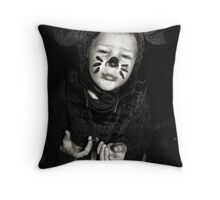 PLEASE Mrs. Mouse Throw Pillow