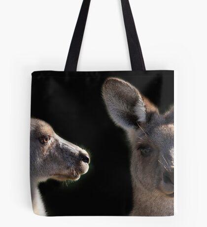 Kangaroo Profile Tote Bag