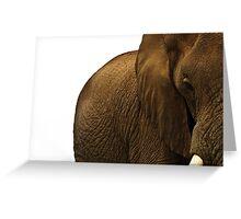 Big one Greeting Card