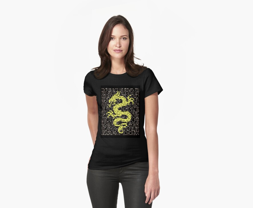 """The Year Of The Dragon"" Clothing by Michelle Lee Willsmore"