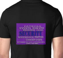 Employment Types - Security Unisex T-Shirt