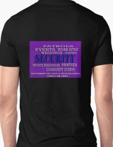 Employment Types - Security Unisex T-Shirt