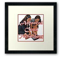 Advanced Cloud Technology Framed Print