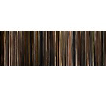Moviebarcode: The Godfather (1972) Photographic Print