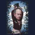 Robin Ince vs. The Moral Majority t-shirt by Neil Davies