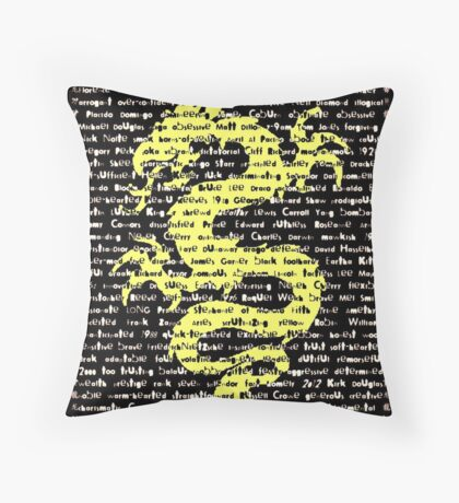 """The Year Of The Dragon"" Throw Pillow"