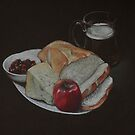 Ploughmans Lunch by Alan Stevens