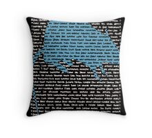 """""""The Year Of The Rat / Mouse"""" Throw Pillow"""