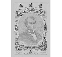 The Emancipation Proclamation - Abraham Lincoln Photographic Print