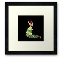 Flamenca! Framed Print