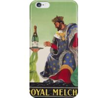 Leonetto Cappiello Affiche Royal Melchior iPhone Case/Skin