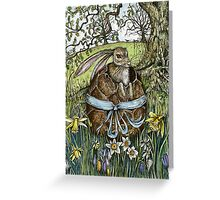 The Easter Egg Hunt Greeting Card
