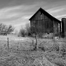 The Old Weathered Barn by wiscbackroadz