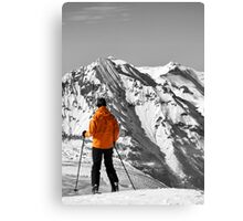 Reaching the Summit: Intrigue & Amazement Canvas Print