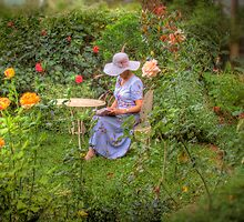 Rosemary's Garden - Murray Bridge, South Australia by Mark Richards