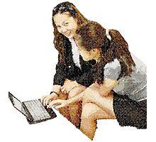 Computing Pair Photographic Print
