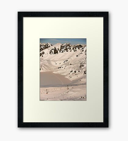 Beauty & Wonder (with Cream) Framed Print