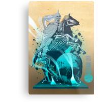 The White King's Knight Metal Print