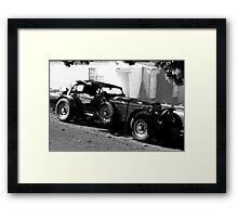 a Bentley ? You're kidding ! Framed Print
