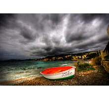 Little Row Boat Photographic Print
