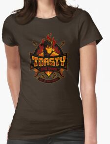 Toasty BBQ Shack Womens Fitted T-Shirt