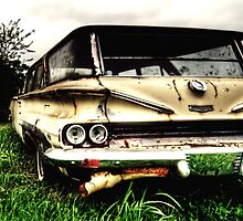 Old Station Wagon 2 - South Texas by jphall
