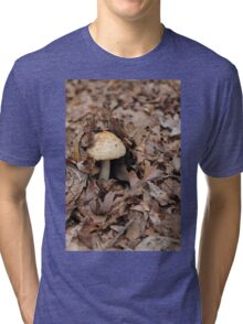 mushrooms in the forest Tri-blend T-Shirt