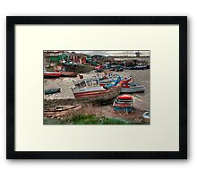The Boat - Jennifer Framed Print