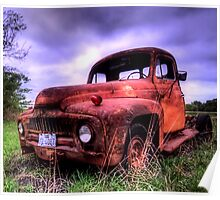 Old Truck 2 - South Texas Poster