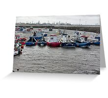 Safe Anchorage Greeting Card