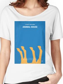 No230 My Animal House minimal movie poster Women's Relaxed Fit T-Shirt