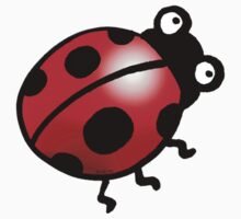cute insect ladybug Kids Clothes