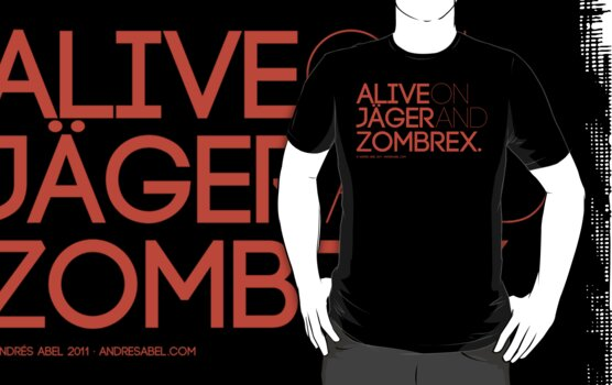 Alive on Jäger and Zombrex by Andrés Abel