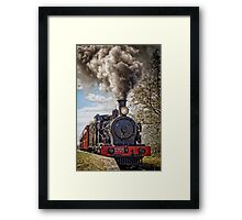 Loco 2705 - Through Train at Bargo River Road Framed Print