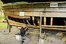 MVP31 Repairing a Zees Boat, Germany. by David A. L. Davies