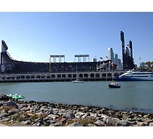 AT&T Park from other side of McCovey Cove Photographic Print