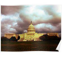 Capitol Building, DC Poster